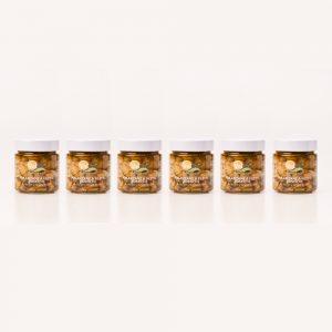 6 x Melanzane a filetti rustiche