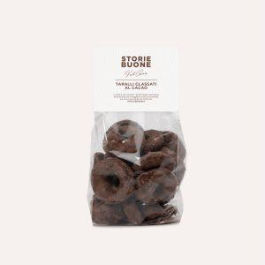 Taralli Glassati al Cacao